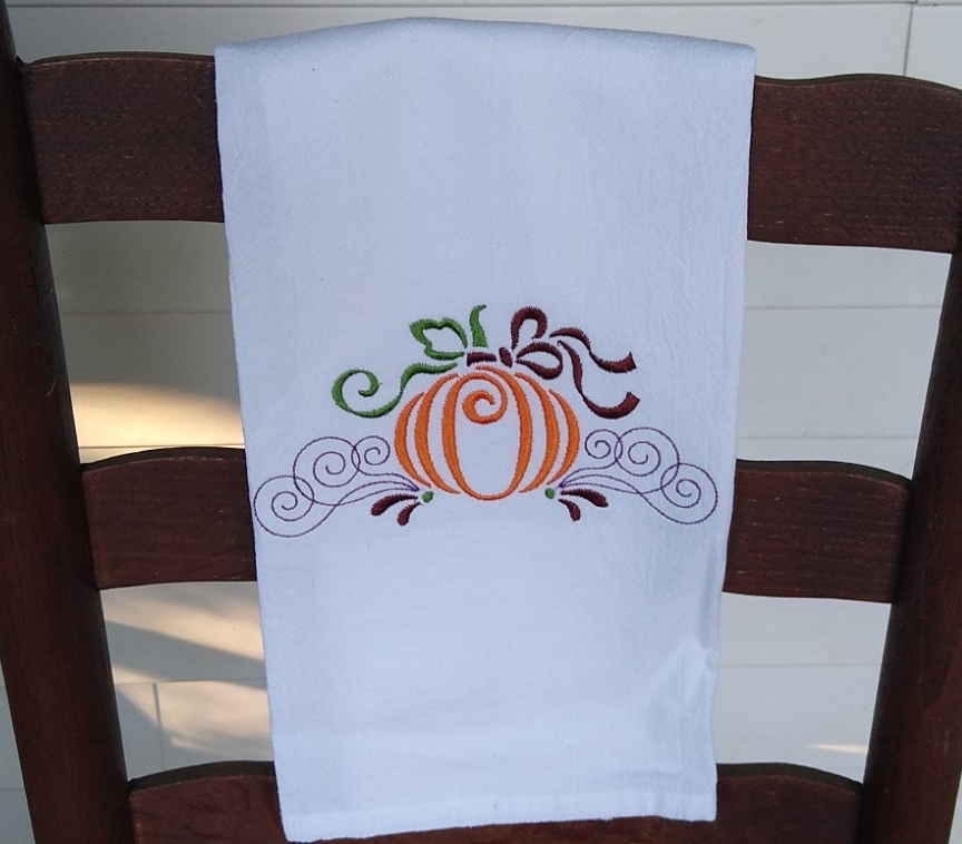 Towel – Pumpkin